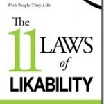 Book Review: The 11 Laws of Likability by Michelle Tillis Lederman