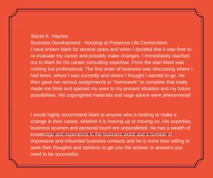 Stacie Haynes recommendation