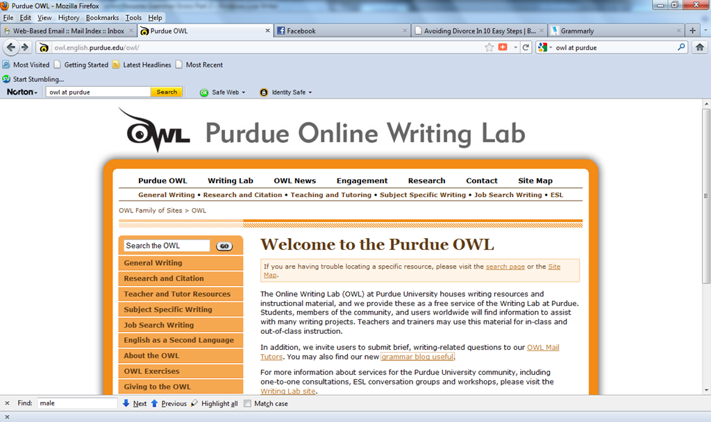 owl at purdue resume