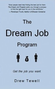 The Dream Job Program by Drew Tewell
