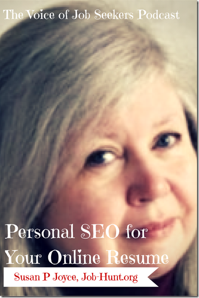 Personal SEO for Your Online Resume
