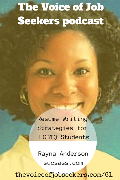 Resume Writing Strategies for LGBTQ Students