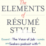 The Elements of Resume Style with Scott Bennett