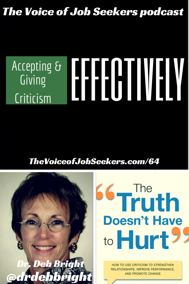 Accepting and Giving Criticism Effectively for the New Hire