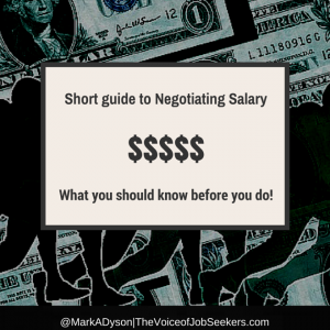 Negotiating Salary