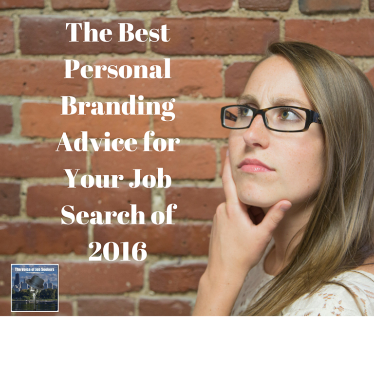 The Best Job Search Personal Branding Advice of 2016