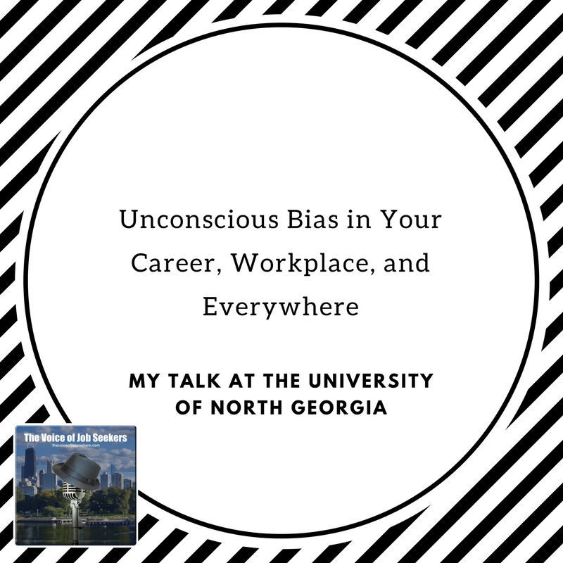 The Epilog of My Talk at UNG on Unconscious Bias