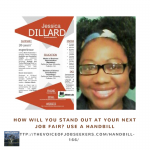 How Will You Stand Out at Your Next Job Fair? Use a Handbill