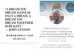 How to make a personal business card for networking today at no you need a personal business card today if you dont do anything for your job search today make it easier for any job fair vendor new contact you meet in colourmoves