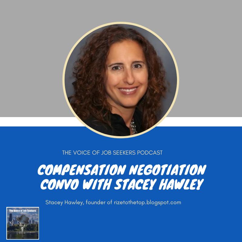 COMPENSATION NEGOTIATION CONVO WITH STACEY HAWLEY