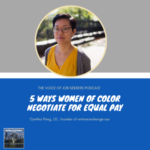 5 Keys to Negotiate Salary as a Woman of Color
