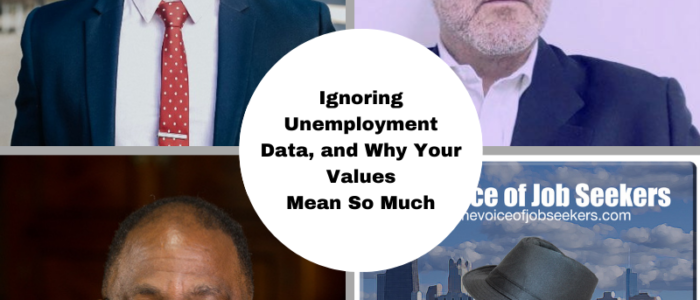 Ignoring Unemployment Data, and Why Your Values Mean Much More