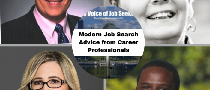 Modern Job Search Advice from Career Professionals